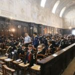 Investitures des chefs Europa Scouts de Bordeaux le 9 décembre 2018